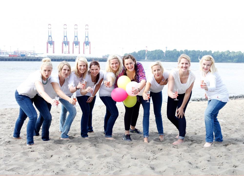 Bridal Party Hamburg Fotostudio