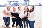 Familienfoto JGA Junggesellinnenabschied bridal Party Fotostudio Hamburg