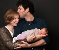 Babyshoot Newborn Family Portraitfotografin Fotografin