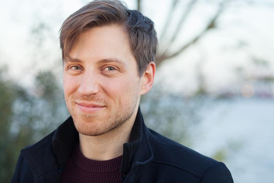 Schauspielerportrait Tino Frers